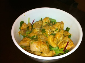 Paleo Spicy Orange Chicken